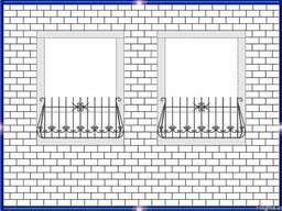 Кованые балконы, ограждения для балконов и оконных проемов