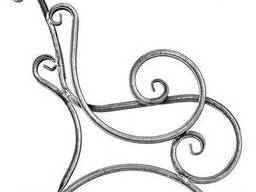 Кованые быльца для скамейки (пара)
