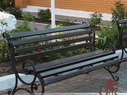 Кованые быльца на скамейку