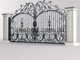 Кованые изделия Кривой Рог, ворота, калитки, забор из профна