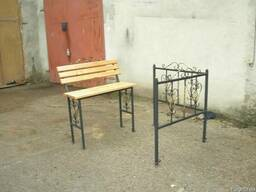 Кованые лавки,оградки в Ровно