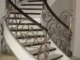 Кованые лестницы. Лестницы из метала.Металлические лестницы.