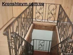 Кованые ограждения для лестниц в Коростене