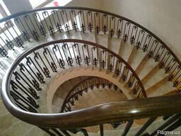 Кованые перила и кованые лестницы
