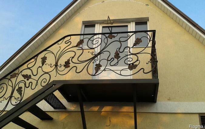 Кованые перила,лестницы под заказ
