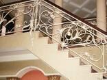 Кованые перила,лестницы под заказ - фото 3