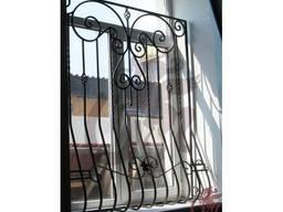 Кованые решетки на окна, оконные решетки - фото 4