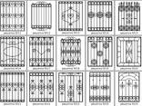 Ставни/решетки кованые/сварные на окна/двери под заказ - фото 8