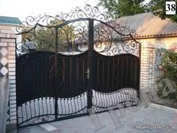 Кованые ворота № 38