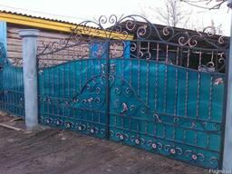Кованые ворота цена Луцк - фото 4