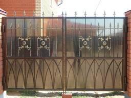 Кованые ворота цена Луцк - фото 2