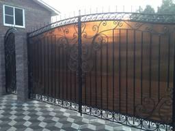 Кованые ворота цена Луцк - фото 7