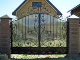 Кованые ворота цена Луцк - фото 1