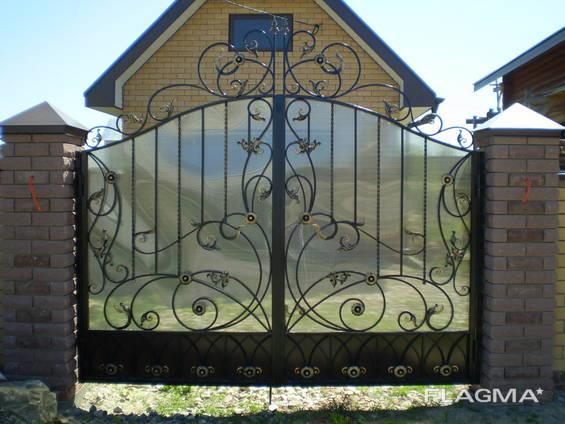 Кованые ворота цена Луцк