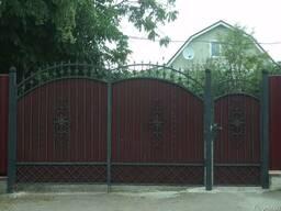 Кованые ворота и калитки на заказ