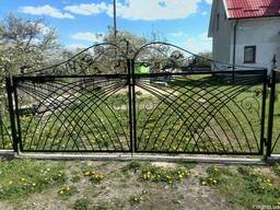 Ворота, калитки, кованые, металлические