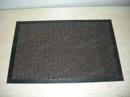 Ковер придверный, грязезащитный 60х90см. цвет коричневый