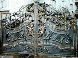 Ковка, кованые ворота, заборы.
