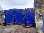 Двери, решетки, навесы, козырьки, ворота, калитки - фото 7