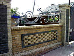 Ковка (решетки, оградки, ворота, навесы, забор, перила и тд)