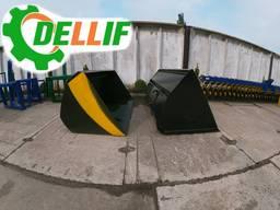 Ковш 1.6 м на погрузчики Dellif для трактора МТЗ, ЮМЗ, Т 40