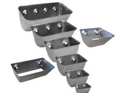 Ковші металеві цільнотягнуті