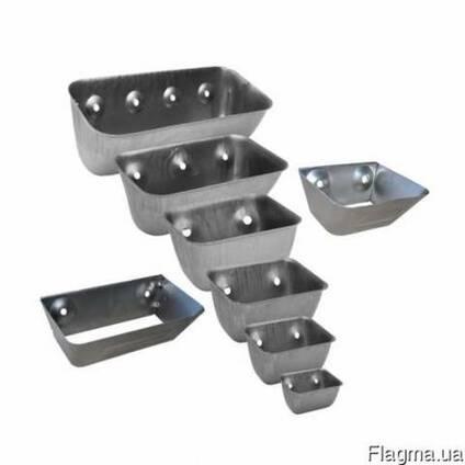 Ковши норийные металлические цельнотянутые применяются для т