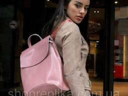 Кожа рюкзак сумка трансформер ss258454 В цвете , Натуральная