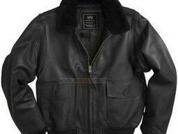 Кожаная летная куртка G-1 Leather Jacket