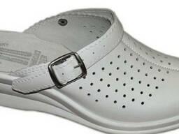 Кожаная медицинская обувь