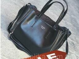 Кожаная сумка Celine Купить сумку Селин в натуральной коже