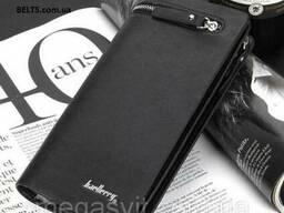Кожаный мужской клатч (кошелек, портмоне) Baellerry Баелери