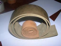 Кожаный плоский приводной ремень 50х4мм, 80метров техн. кожа