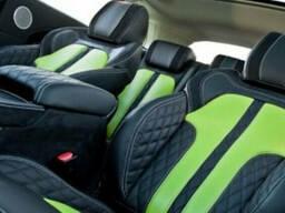 Кожаный салон - автомобильная кожа для перетяжки