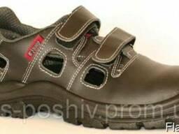 Рабочие сандалии кожаные