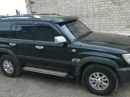 Козырек лобового стекла Toyota LAND Cruiser 100 1998-2007...