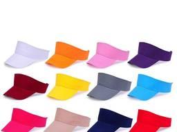 Козырек продавца пошив под заказ разного цвета