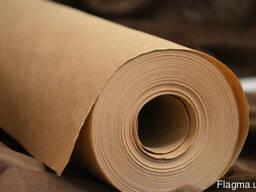Крафт бумага упаковочная, Ширина 70см. Длина руло