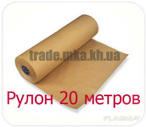 Крафт бумага в рулоне 20 метров