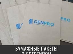 Крафт пакеты с логотипом от 50 шт.