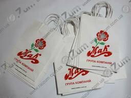 Крафт пакеты с логотипом в Белой Церкви