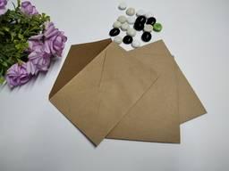 Крафтовий конверт формату А6