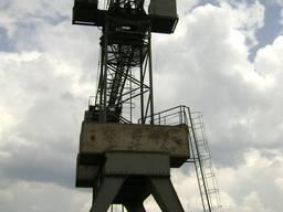 Кран баштовий КБ-572 (лісонавантажувач)