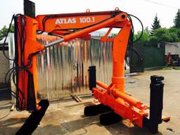 Кран-маніпулятор ATLAS 100.1 - 7.3/2 A2 вылет - 7