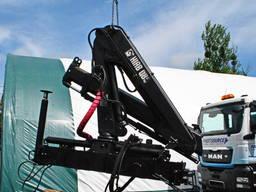 Кран-манипулятор HIAB 085 вылет 5, 5 м, на вылете 1620 кг