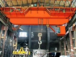 Кран мостовой металлургический литейный
