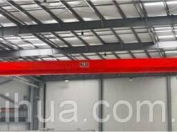 Кран мостовой -г/п 15т, электрический, однобалочный, опорный