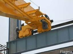 Кран мостовой ремонт механической части
