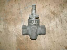 Кран пробковый проходной сальн муфт 11ч6бк Ду15 20 25Ру10