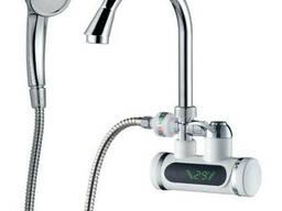 Кран-водонагреватель проточный JZ 3. 0кВт 0, 4-5бар для. ..